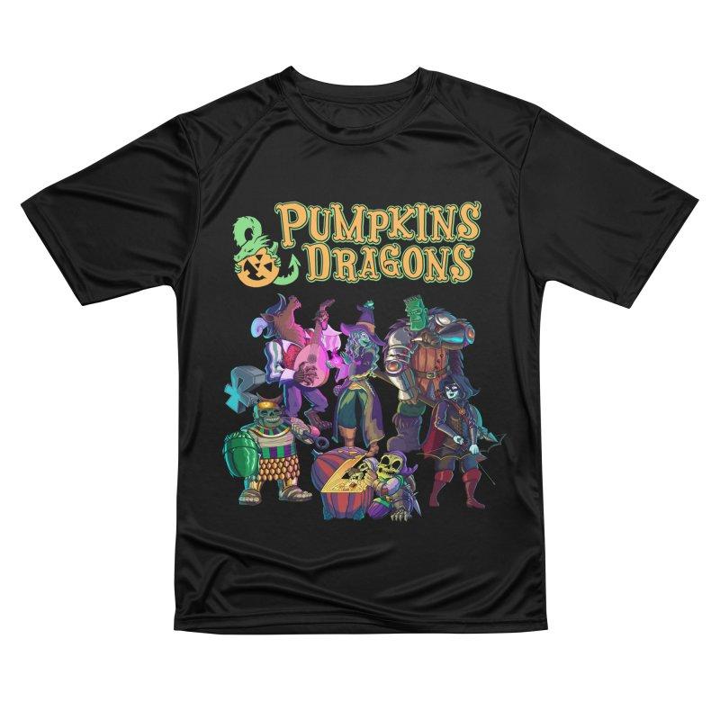 Pumpkins & Dragons adventuring party Women's T-Shirt by Manning Krull's Artist Shop