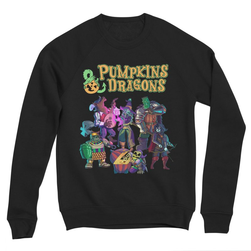 Pumpkins & Dragons adventuring party Women's Sweatshirt by Manning Krull's Artist Shop