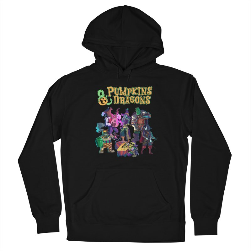 Pumpkins & Dragons adventuring party Men's Pullover Hoody by Manning Krull's Artist Shop
