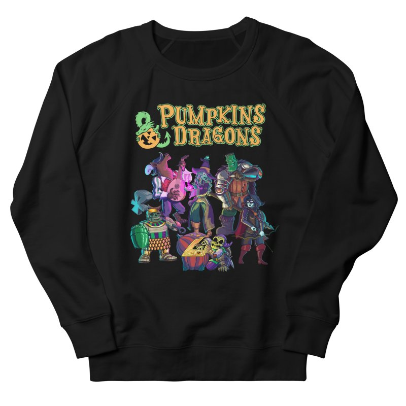 Pumpkins & Dragons adventuring party Men's Sweatshirt by Manning Krull's Artist Shop