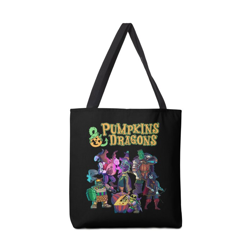 Pumpkins & Dragons adventuring party Accessories Bag by Manning Krull's Artist Shop