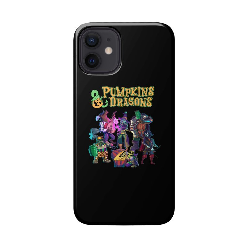 Pumpkins & Dragons adventuring party Accessories Phone Case by Manning Krull's Artist Shop