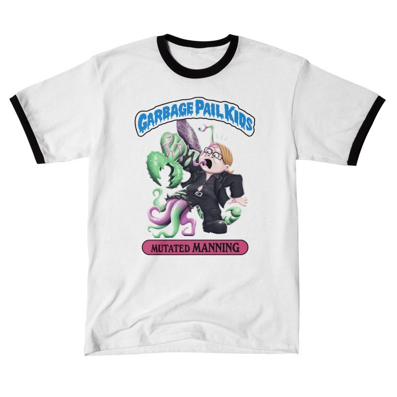 Garbage Pail Kids Mutated Manning Men's T-Shirt by Manning Krull's Artist Shop
