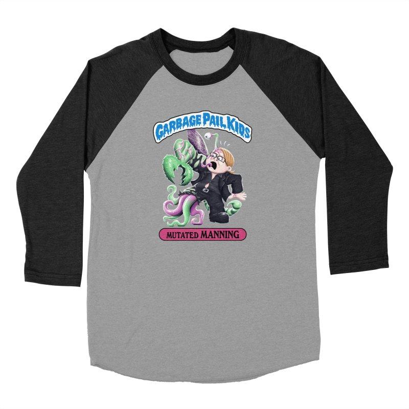 Garbage Pail Kids Mutated Manning Women's Longsleeve T-Shirt by Manning Krull's Artist Shop