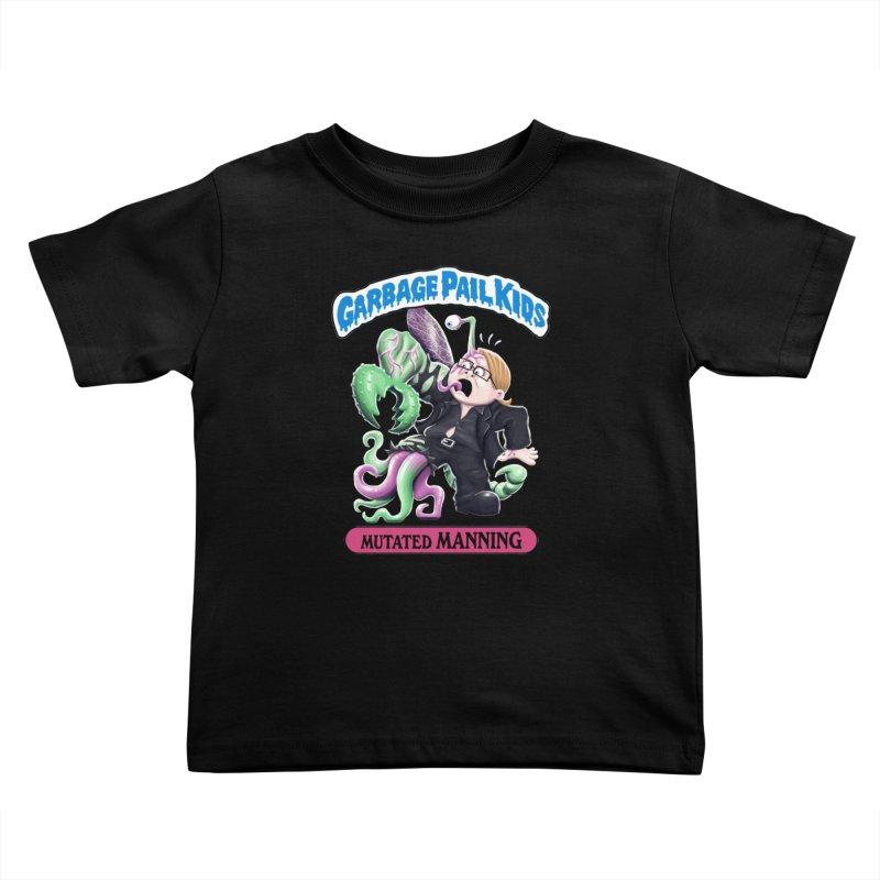 Garbage Pail Kids Mutated Manning Kids Toddler T-Shirt by Manning Krull's Artist Shop
