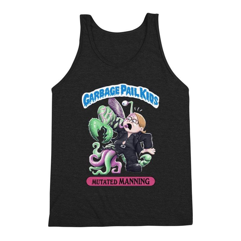 Garbage Pail Kids Mutated Manning Men's Tank by Manning Krull's Artist Shop