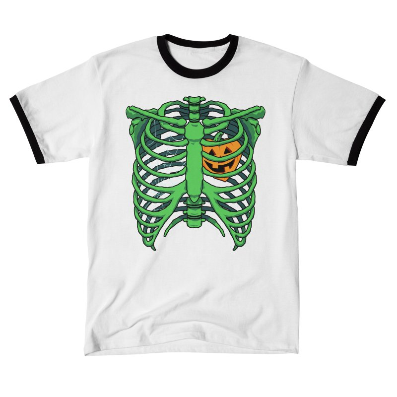 Halloween in my heart - green Women's T-Shirt by Manning Krull's Artist Shop