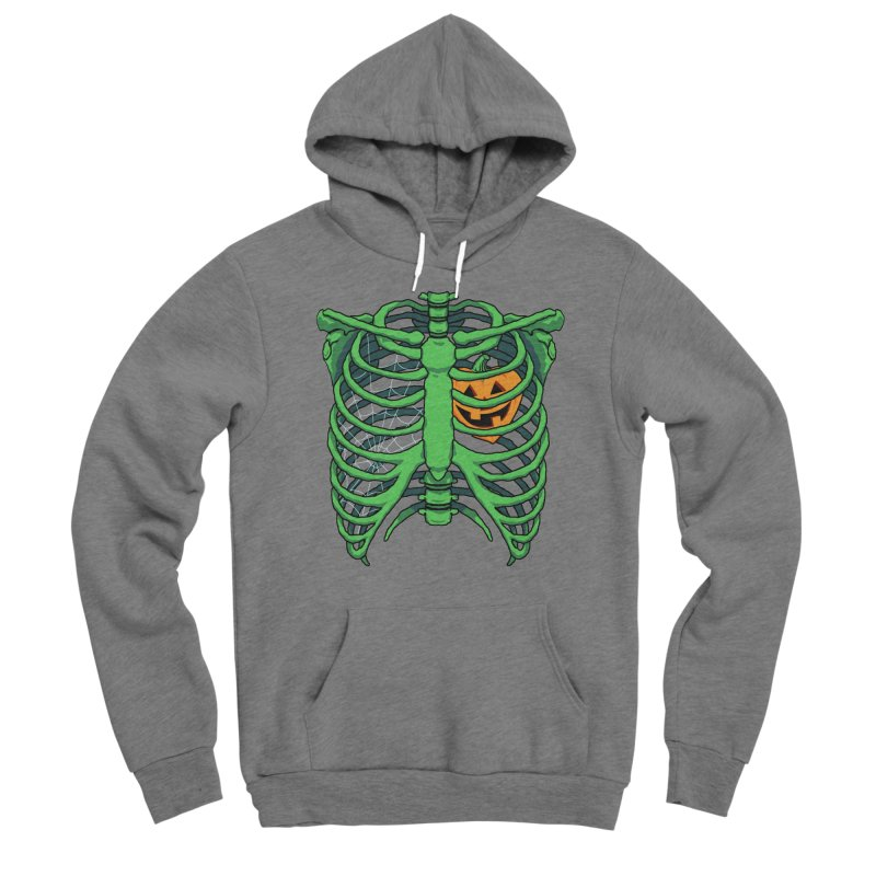 Halloween in my heart - green Women's Pullover Hoody by Manning Krull's Artist Shop