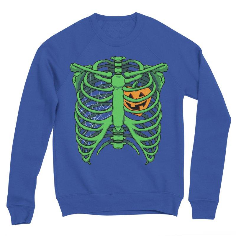 Halloween in my heart - green Women's Sweatshirt by Manning Krull's Artist Shop