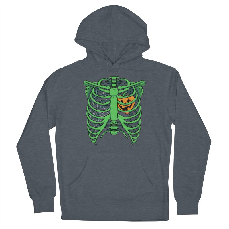 Halloween in my heart - green Men's Pullover Hoody by Manning Krull's Artist Shop