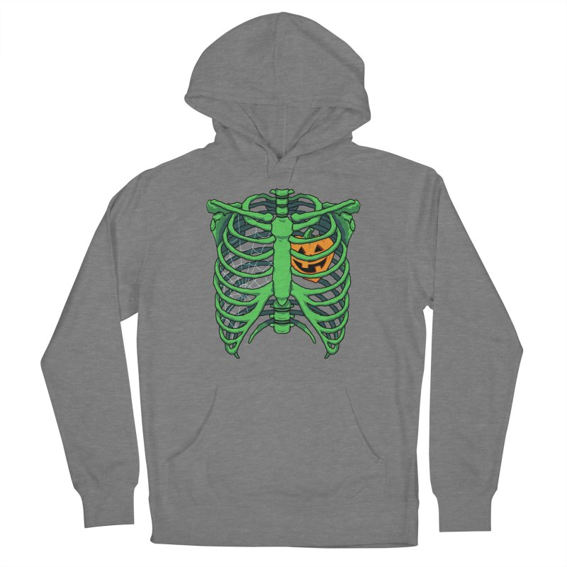 Halloween in my heart - green Women's Pullover Hoody by Manning Krull's Artist Shop