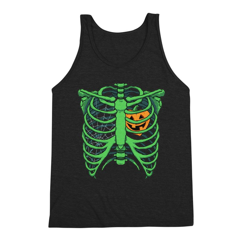 Halloween in my heart - green Men's Tank by Manning Krull's Artist Shop