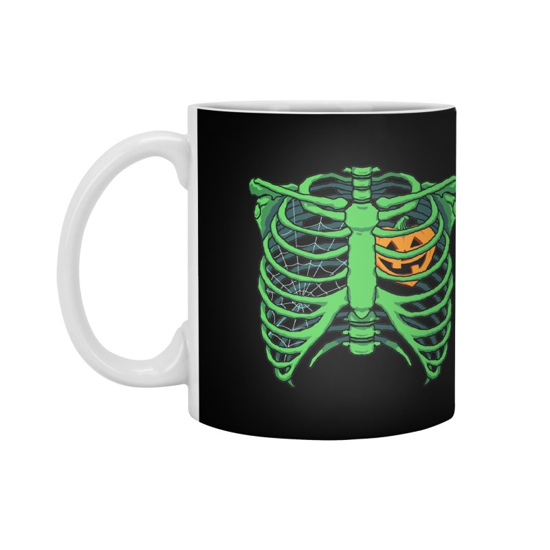 Halloween in my heart - green Accessories Mug by Manning Krull's Artist Shop