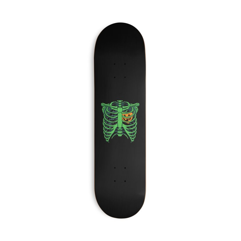 Halloween in my heart - green Accessories Skateboard by Manning Krull's Artist Shop