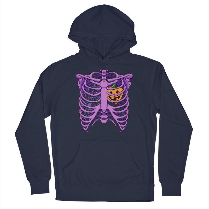 Halloween in my heart - purple Men's Pullover Hoody by Manning Krull's Artist Shop