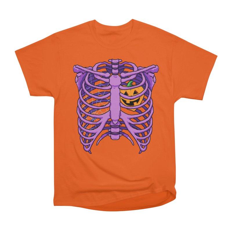 Halloween in my heart - purple Men's T-Shirt by Manning Krull's Artist Shop