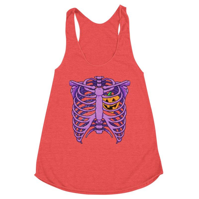 Halloween in my heart - purple Women's Tank by Manning Krull's Artist Shop