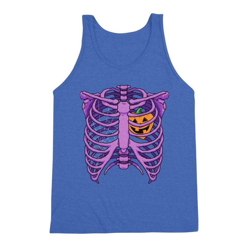 Halloween in my heart - purple Men's Tank by Manning Krull's Artist Shop