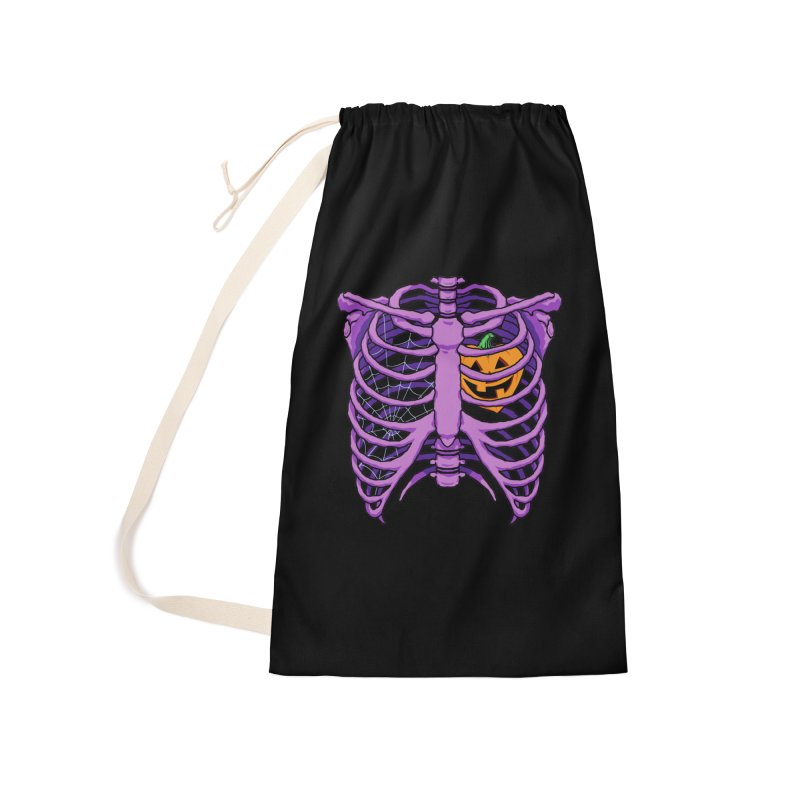Halloween in my heart - purple Accessories Bag by Manning Krull's Artist Shop