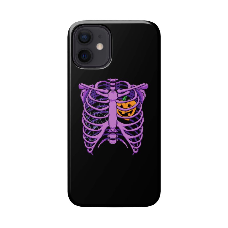 Halloween in my heart - purple Accessories Phone Case by Manning Krull's Artist Shop