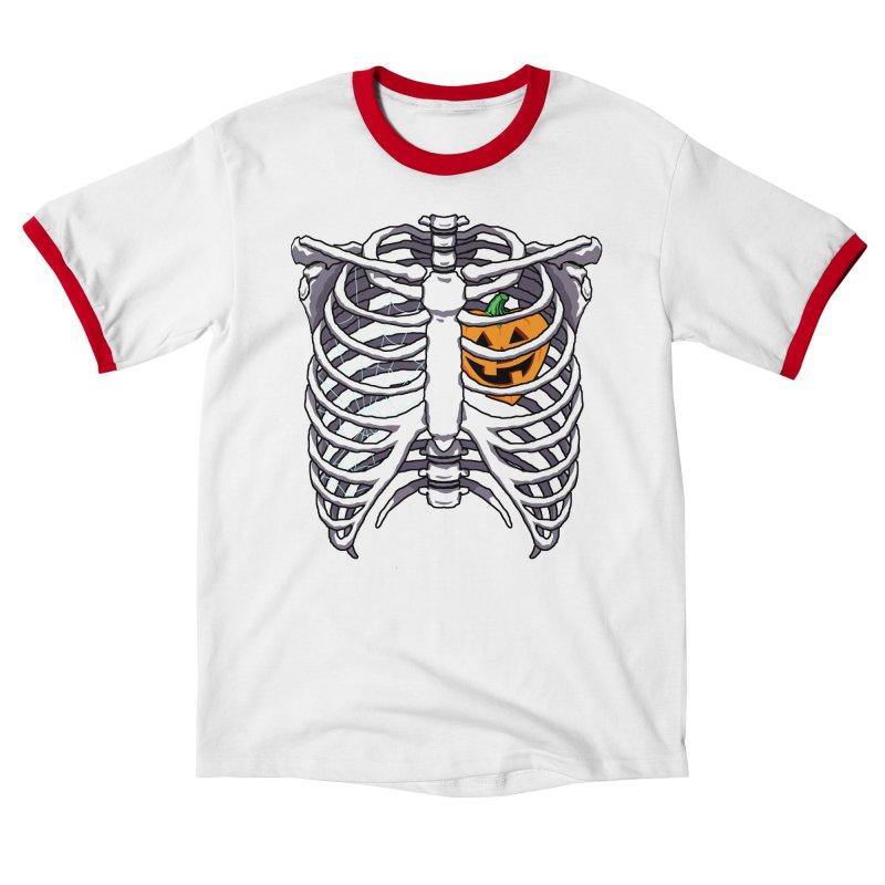 Halloween in my heart - white Women's T-Shirt by Manning Krull's Artist Shop