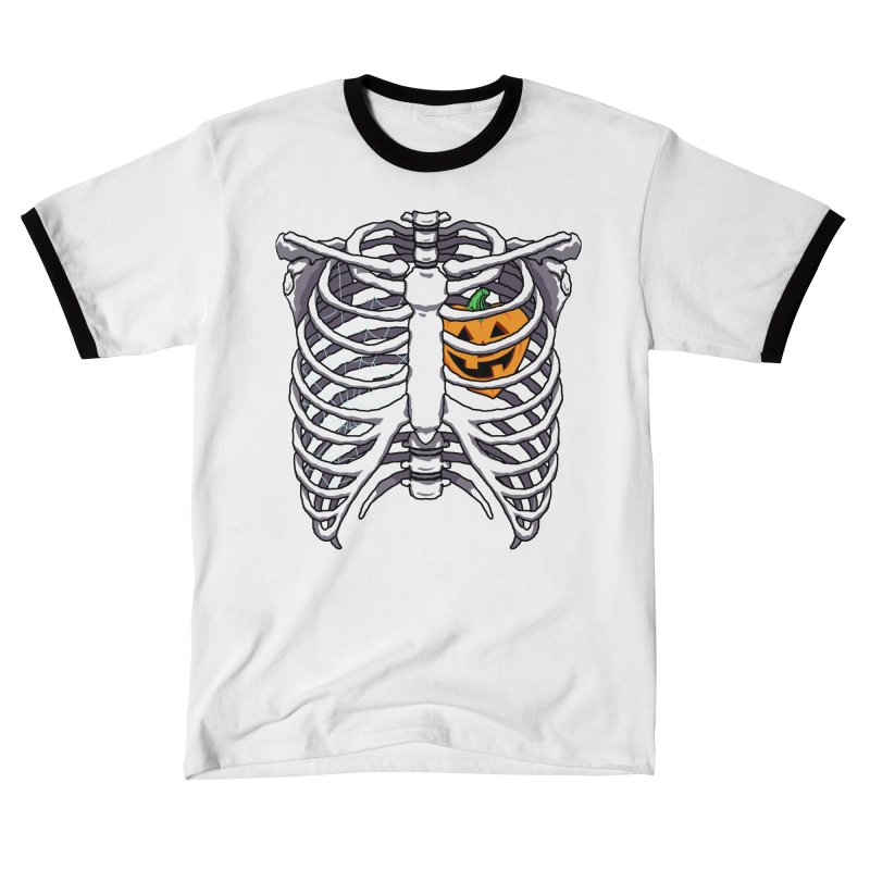 Halloween in my heart - white Men's T-Shirt by Manning Krull's Artist Shop
