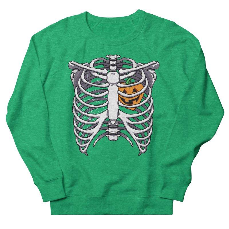 Halloween in my heart - white Women's Sweatshirt by Manning Krull's Artist Shop
