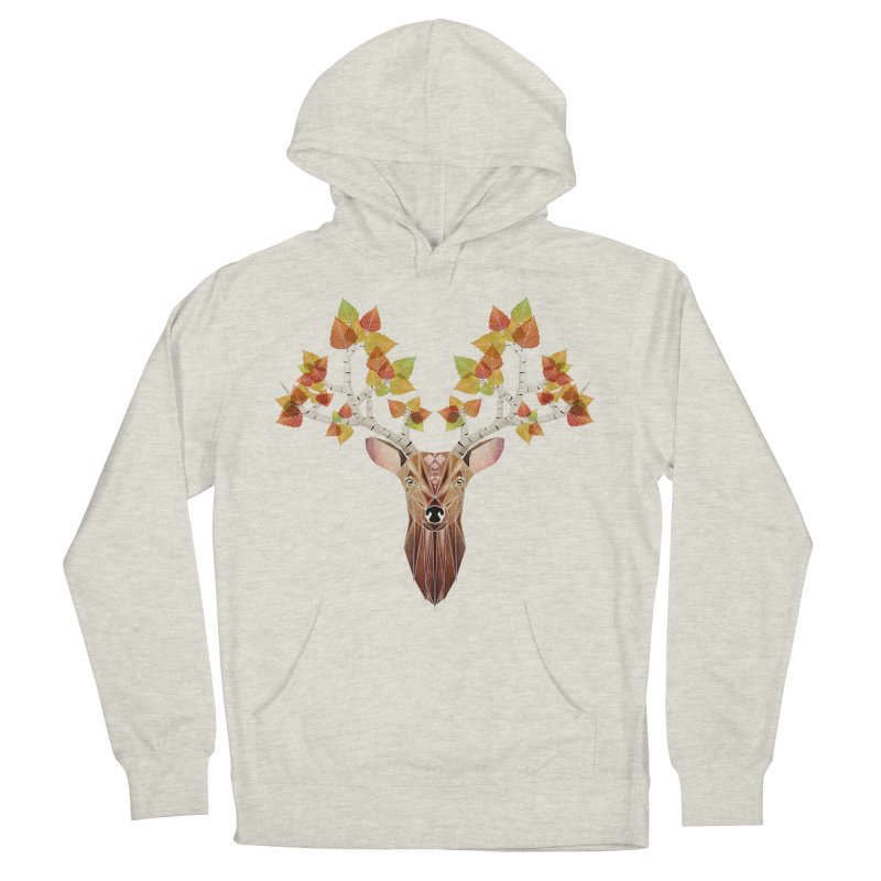 deer autumn Women's Pullover Hoody by manoou's Artist Shop
