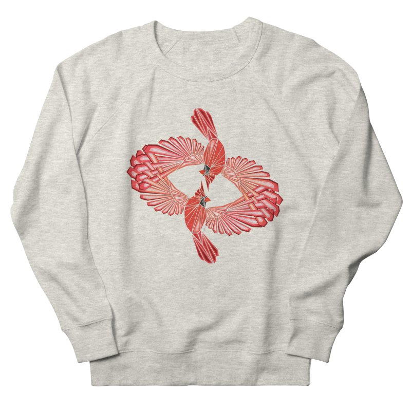 cardinal Women's Sweatshirt by manoou's Artist Shop