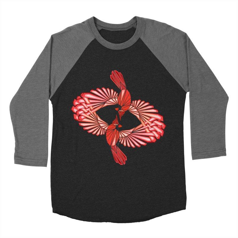 cardinal Women's Baseball Triblend T-Shirt by manoou's Artist Shop