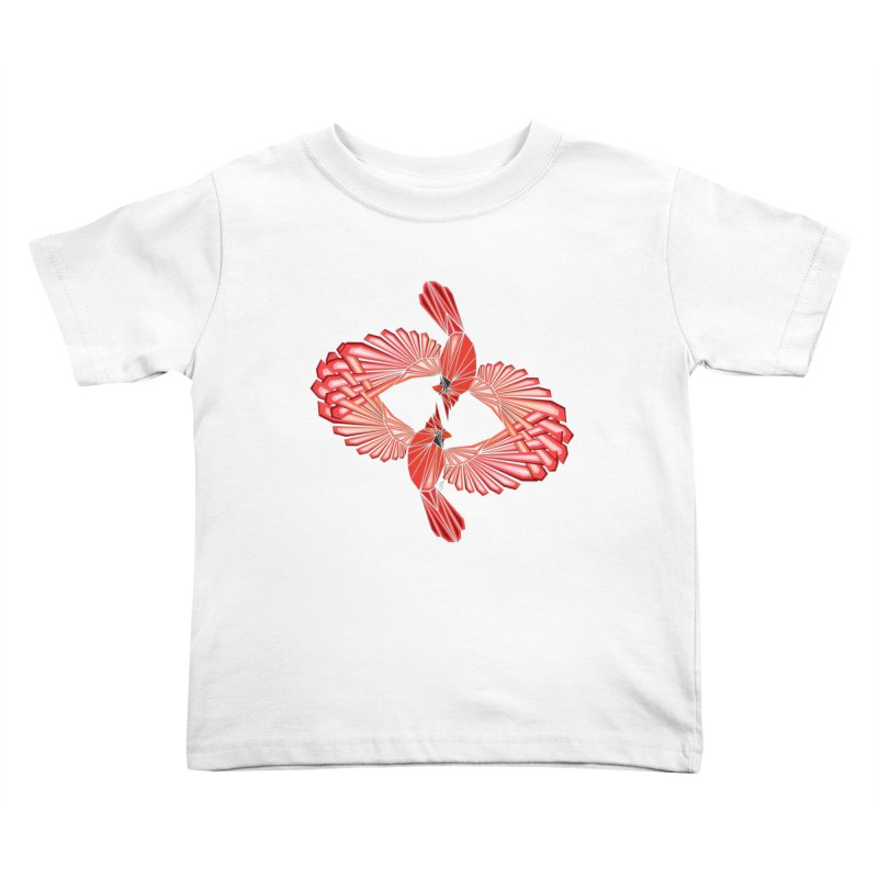 cardinal Kids Toddler T-Shirt by manoou's Artist Shop