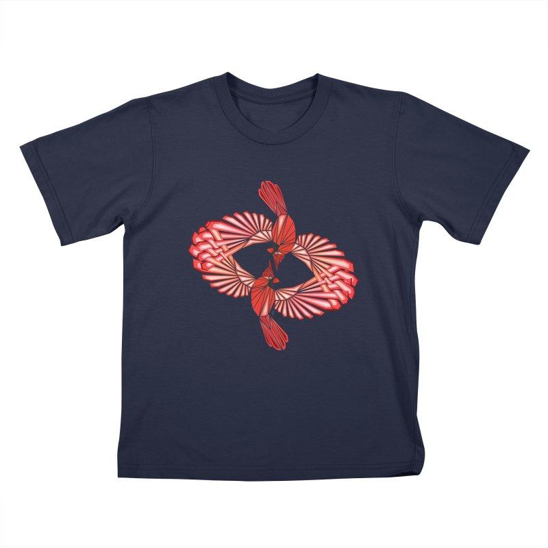 cardinal Kids T-Shirt by manoou's Artist Shop