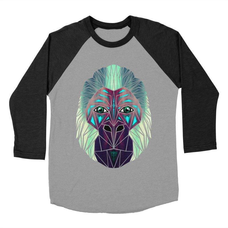 gorilla Men's Baseball Triblend T-Shirt by manoou's Artist Shop