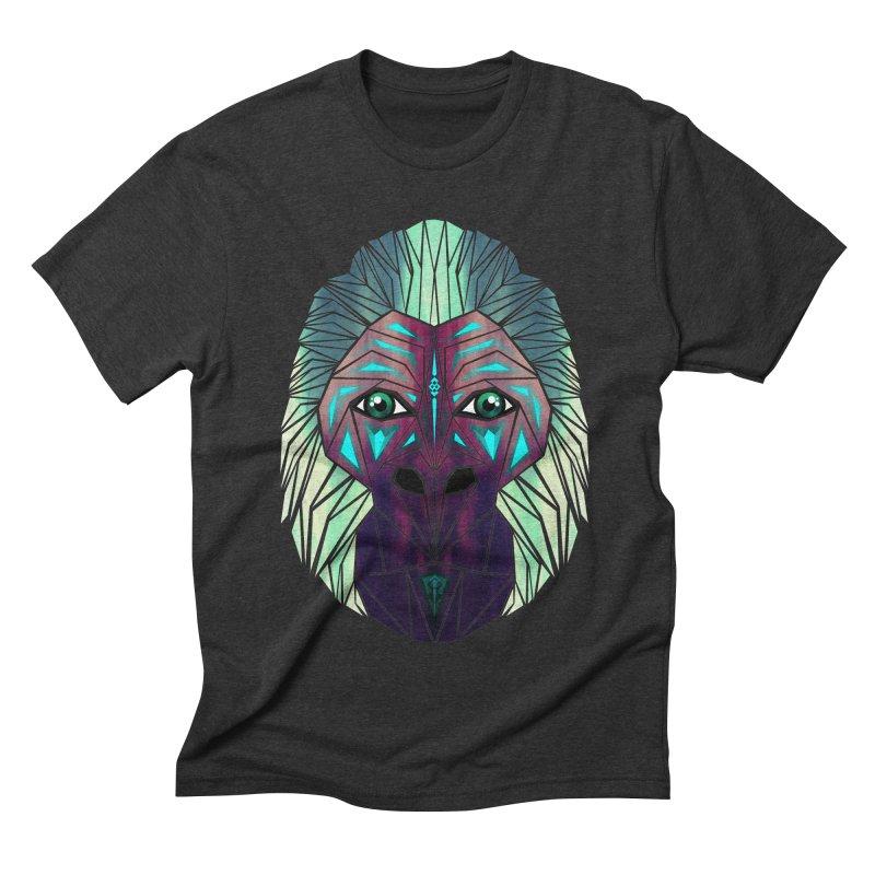 gorilla Men's Triblend T-shirt by manoou's Artist Shop