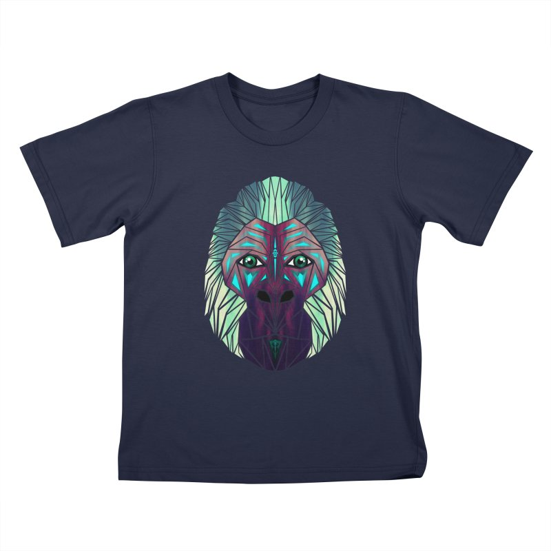 gorilla Kids T-Shirt by manoou's Artist Shop