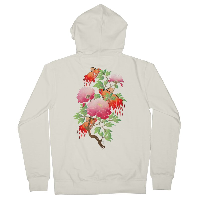 goldfish Women's Zip-Up Hoody by manoou's Artist Shop