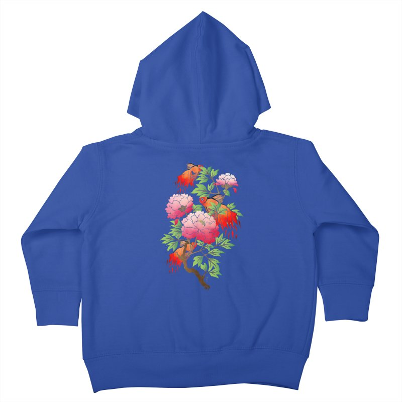 goldfish Kids Toddler Zip-Up Hoody by manoou's Artist Shop