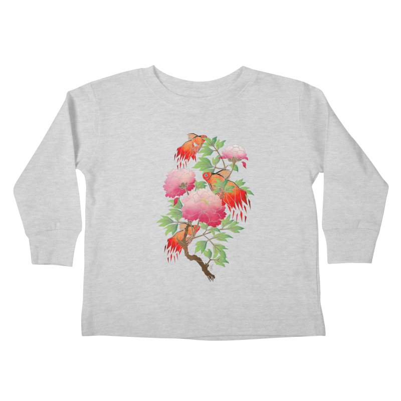 goldfish Kids Toddler Longsleeve T-Shirt by manoou's Artist Shop