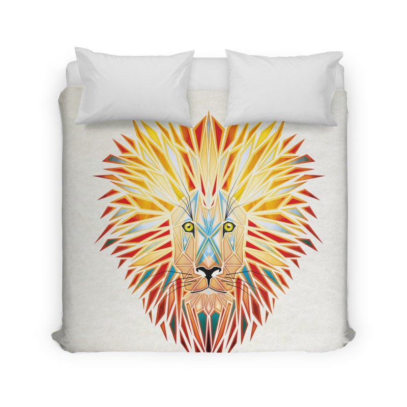 lion king Home Duvet by manoou's Artist Shop