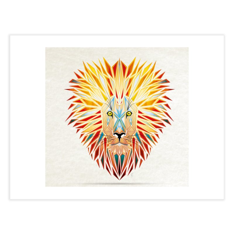 lion king Home Fine Art Print by manoou's Artist Shop