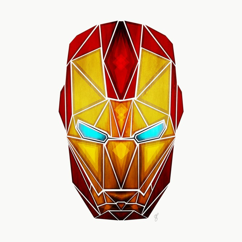 iron man None  by manoou's Artist Shop