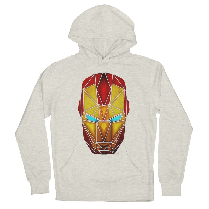 iron man Women's Pullover Hoody by manoou's Artist Shop