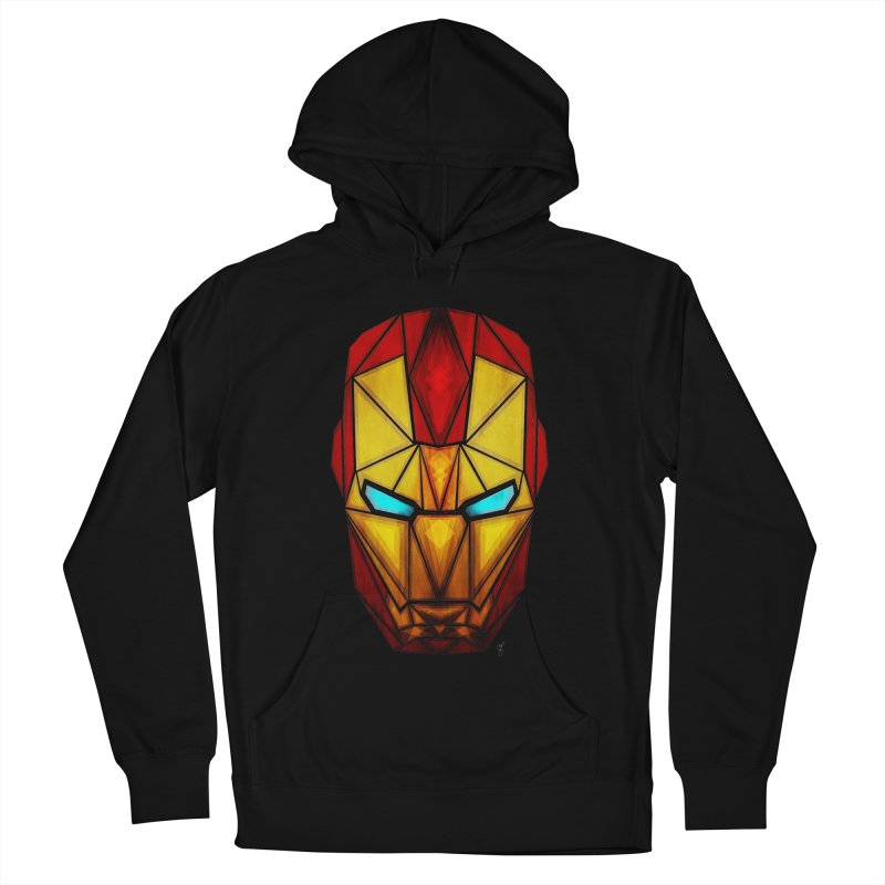iron man Men's Pullover Hoody by manoou's Artist Shop