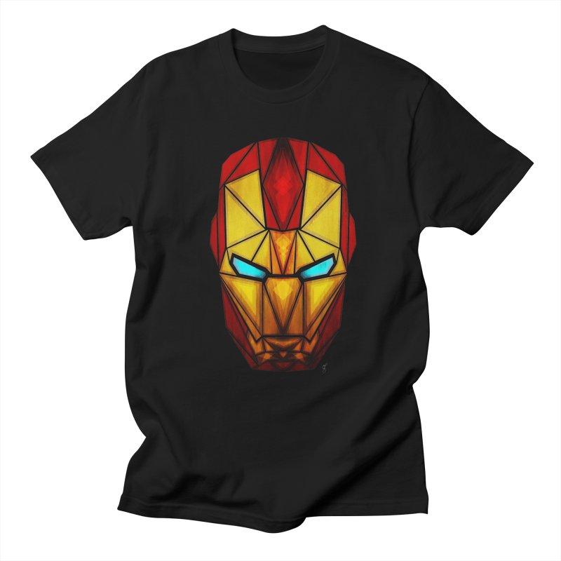 iron man Men's T-Shirt by manoou's Artist Shop