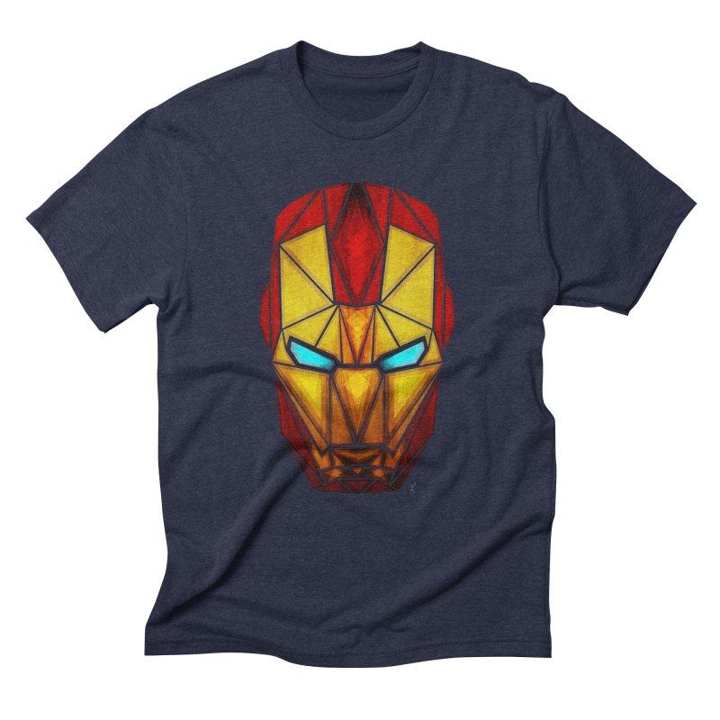 iron man Men's Triblend T-Shirt by manoou's Artist Shop