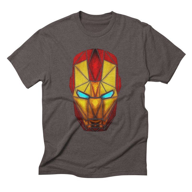 iron man Men's Triblend T-shirt by manoou's Artist Shop