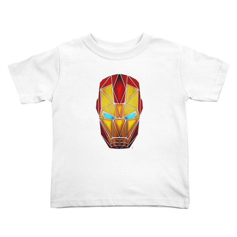 iron man Kids Toddler T-Shirt by manoou's Artist Shop