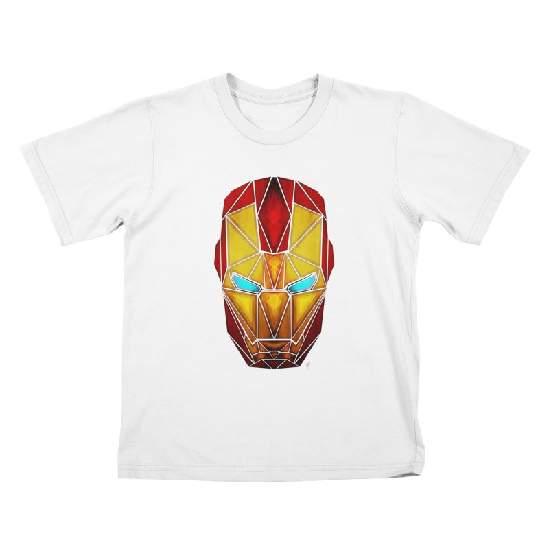 iron man Kids T-Shirt by manoou's Artist Shop