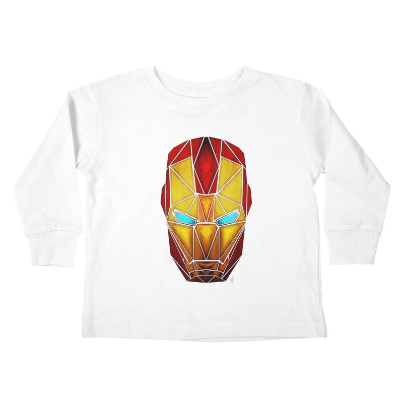 iron man Kids Toddler Longsleeve T-Shirt by manoou's Artist Shop