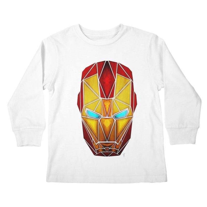 iron man Kids Longsleeve T-Shirt by manoou's Artist Shop